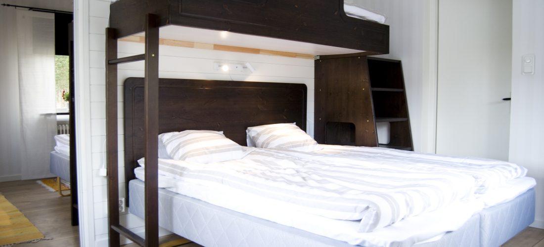 Boende Villa solsidan sovrum trebäddar
